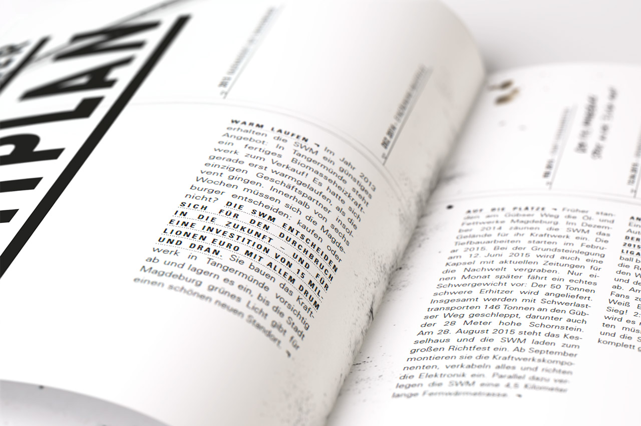 Textbüro Wortschatz - Beispiel eines Geschäftsberichtes