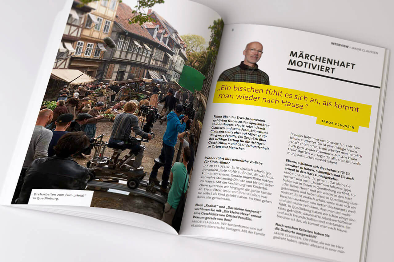 Filmland Sachsen-Anhalt: Fabelhafte Aussichten - Textbüro Wortschatz: Text, Bildrecherche
